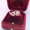 .45ctw Antique Rose Cut Diamond Toi et Moi Ring 11