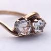 .45ctw Antique Rose Cut Diamond Toi et Moi Ring 12