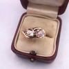 .45ctw Antique Rose Cut Diamond Toi et Moi Ring 14