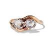 .45ctw Antique Rose Cut Diamond Toi et Moi Ring 0