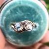 .45ctw Antique Rose Cut Diamond Toi et Moi Ring 10