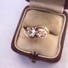 .45ctw Antique Rose Cut Diamond Toi et Moi Ring 4