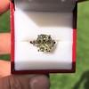 4.71ct Antique Light Yellow Emerald Cut Diamond Ring GIA WX VS 8