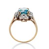 4.85ctw Antique Diamond and Zircon Cruciform-Motif Ring 3