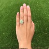 5.01ct Art Deco Opal and Diamond Ring 9