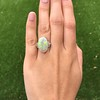 5.01ct Art Deco Opal and Diamond Ring 10