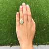 5.01ct Art Deco Opal and Diamond Ring 17