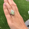 5.01ct Art Deco Opal and Diamond Ring 12