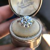 5.07ct Transitional Cut Diamond Solitaire GIA G SI1 14