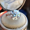 5.07ct Transitional Cut Diamond Solitaire GIA G SI1 6