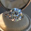 5.07ct Transitional Cut Diamond Solitaire GIA G SI1 4