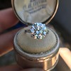 5.07ct Transitional Cut Diamond Solitaire GIA G SI1 19