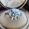 5.07ct Transitional Cut Diamond Solitaire GIA G SI1 1