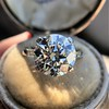 5.07ct Transitional Cut Diamond Solitaire GIA G SI1 8