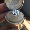5.07ct Transitional Cut Diamond Solitaire GIA G SI1 16