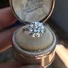 5.07ct Transitional Cut Diamond Solitaire GIA G SI1 17