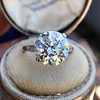5.07ct Transitional Cut Diamond Solitaire GIA G SI1 15