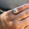 5.07ct Transitional Cut Diamond Solitaire GIA G SI1 5