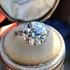 5.07ct Transitional Cut Diamond Solitaire GIA G SI1 12
