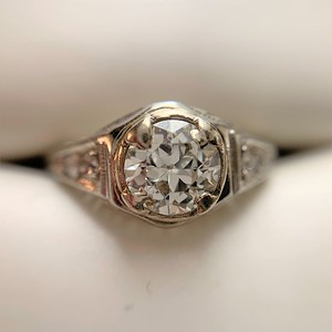 .67ctw Old European Cut Diamond Ring