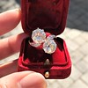 5.15ctw Old European Cut Diamond Toi et Moi Ring 6