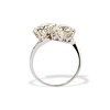 5.15ctw Old European Cut Diamond Toi et Moi Ring 18