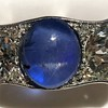 5.49ctw Edwardian Sapphire and Old European Cut Diamond Trilogy Ring 27