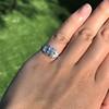 0.58ctw Old European Cut Diamond Art Deco Illusion Ring 16