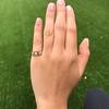 .58ctw Victorian Starburst Motif Trilogy Ring 11