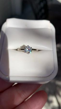 .61ct Old European Cut Diamond Vintage Solitaire Tiffany & Co