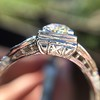 .62ct Vintage Old European Cut Diamond Ring 18