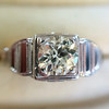 .62ct Vintage Old European Cut Diamond Ring 7