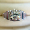 .62ct Vintage Old European Cut Diamond Ring 6