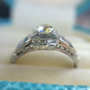 .62ct Vintage Old European Cut Diamond Ring 10
