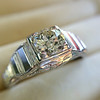 .62ct Vintage Old European Cut Diamond Ring 5