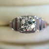 .62ct Vintage Old European Cut Diamond Ring 9