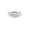 .62ct Vintage Old European Cut Diamond Ring 0