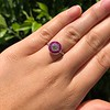 .63ct Vintage Old European Cut Diamond Target Ring