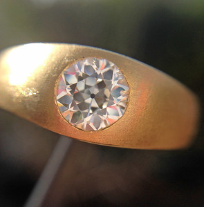 .64ct (est) old European Cut Diamond Ring by Peacock