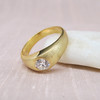 .64ct Old European cut Diamond Gypsy Ring, by Peacock 8