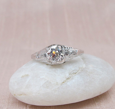 .70ct Old European Cut Diamond Solitaire