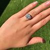 7.35ct Deco Asscher Cut Diamond Ring GIA K VS 23