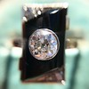 .74ct Art Deco Diamond and Onyx Ring 5