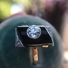 .74ct Art Deco Diamond and Onyx Ring 10