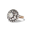 .78ctw Victorian Rose Cut Cluster Ring 1