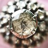 .78ctw Victorian Rose Cut Cluster Ring 10