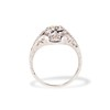 .80ct Vintage Old European Cut Diamond Dome Ring 3