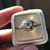 .80ct Vintage Old European Cut Diamond Dome Ring 17