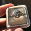 .80ct Vintage Old European Cut Diamond Dome Ring 16