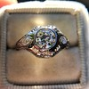 .80ct Vintage Old European Cut Diamond Dome Ring 12